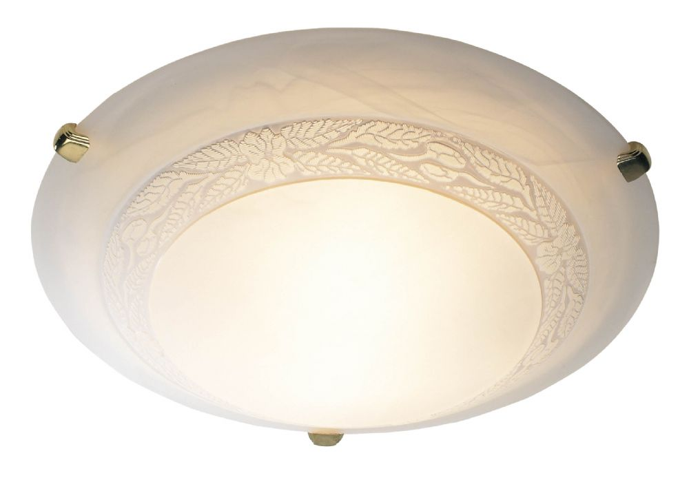 Damask Large Flush Ceiling Light DAM482 (052361)